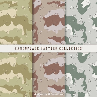 Set de patrones abstractos en tonos pastel