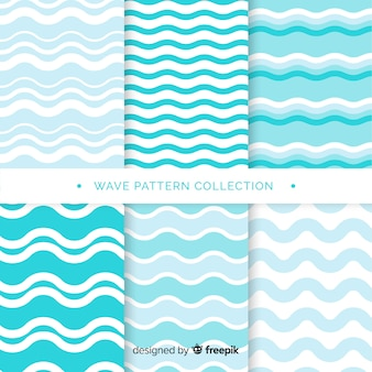 Set de patrones de olas