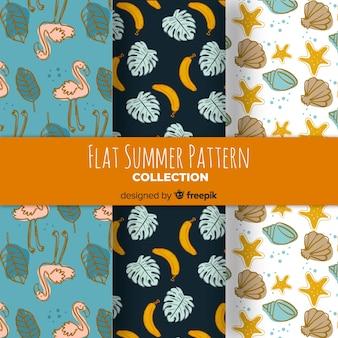 Set de patrones de verano