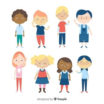 Set de personajes por el día del niño