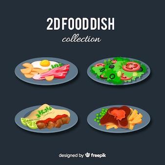 Set platos de comida