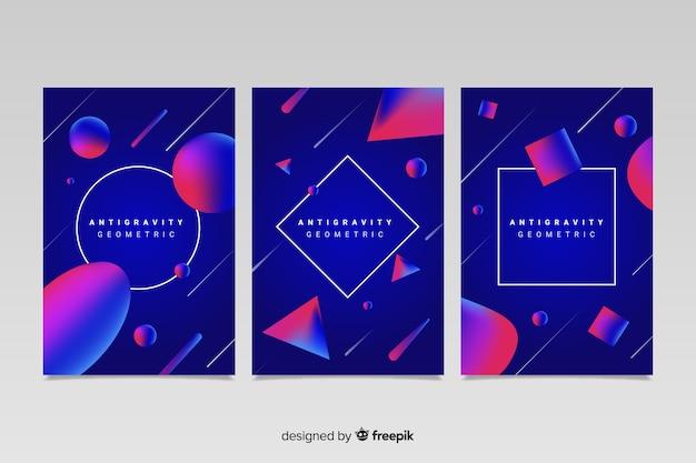 Set de portadas de antigravedad