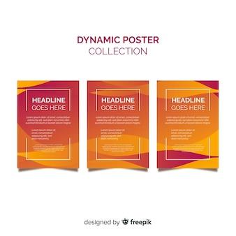 Set de posters dinámicos