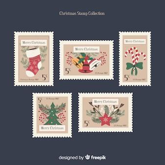 Set de sellos de navidad