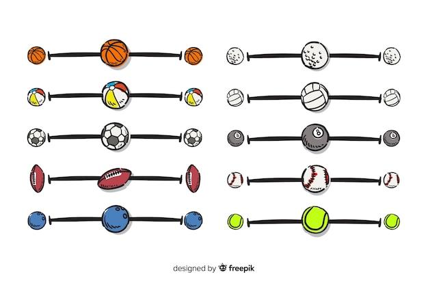 Set de separadores