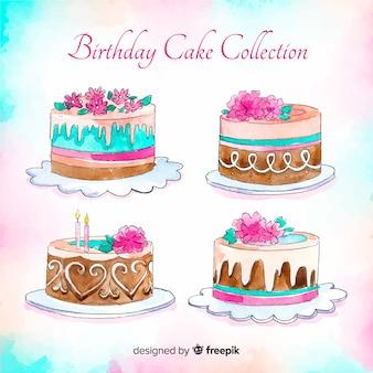 Set de tarjetas de cumpleaños