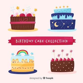 Set tartas cumpleaños monas