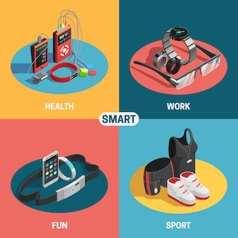 Set de tecnología ponible