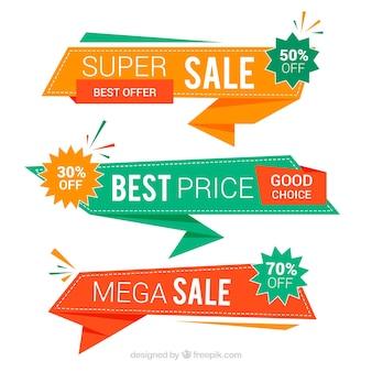 Set de tres banners de mejores precios