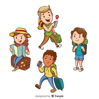 Set de turistas