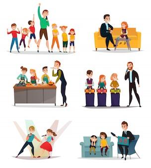 Set de tv para niños