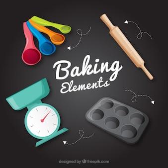 Set de utensilios para panadería