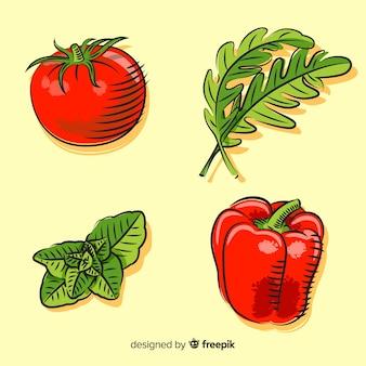 Set de verduras