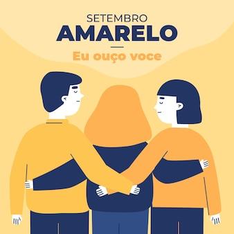 Setembro amarelo concept