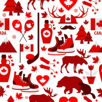 Signo y símbolo de canadá