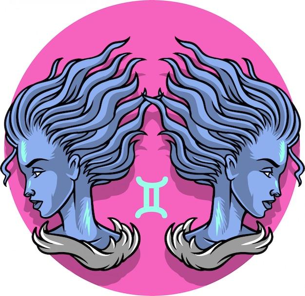 Signo del zodiaco de géminis