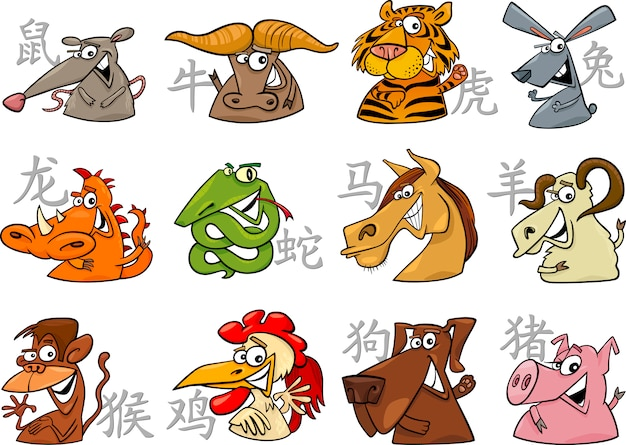 Signos del zodiaco chino