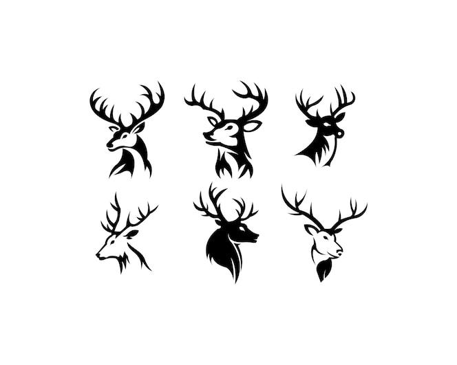 Colección De Silueta De Lobo: Bonita Colección De Animales De Dibujo De Primavera
