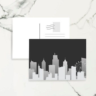 Silueta horizonte ilustración