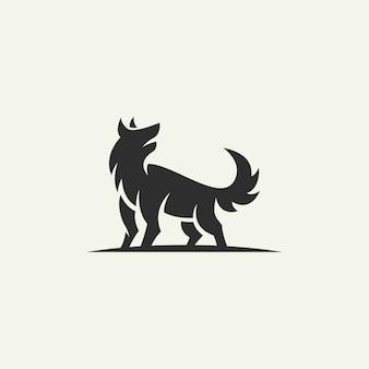Silueta del logo de zorro