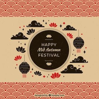 Siluetas, festival del medio otoño