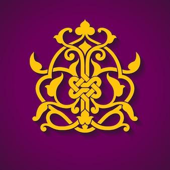 Símbolo árabe abstracto
