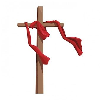 Símbolo católico cruz