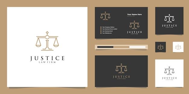 Símbolo de la ley de justicia premium. bufete de abogados, despachos de abogados, servicios de abogados, inspiración de diseño de logotipos de lujo.