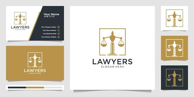 Símbolo de la ley de justicia premium. bufete de abogados, despachos de abogados