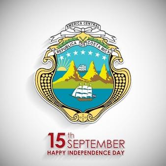 Símbolo nacional del día 15 de septiembre de costa rica