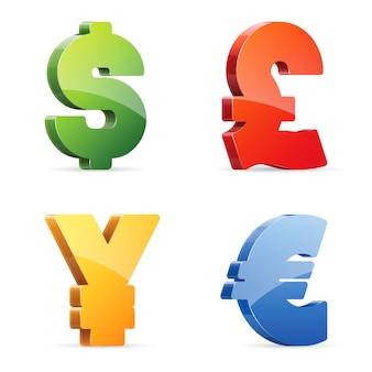 Símbolos de moneda