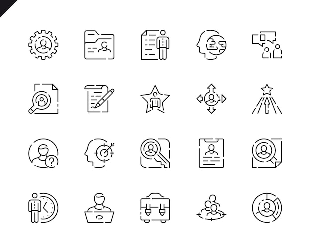 Iconos Cv Fotos Y Vectores Gratis