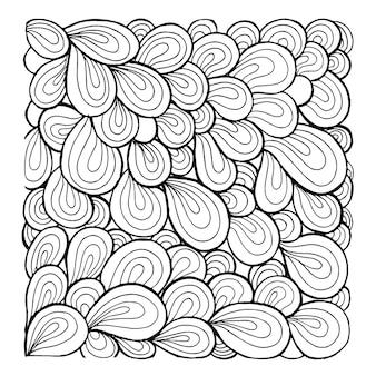 Simples patrones de patrones en blanco y negro