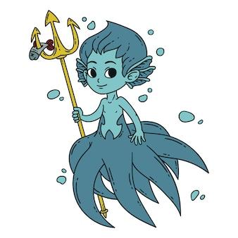 Sirena masculina
