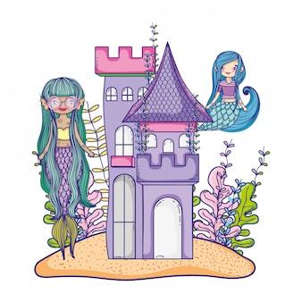 Sirenas en el castillo