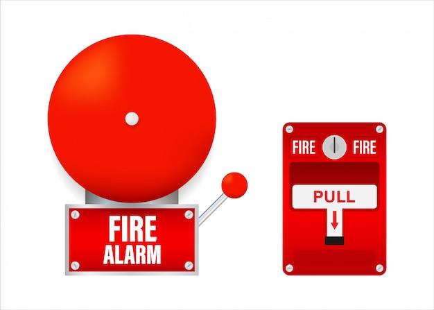 Sistema de alarma contra incendios.