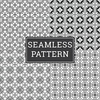 Sistema decorativo del fondo de art deco pattern texture inconsútil.