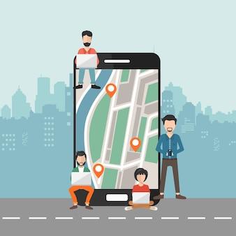 Sistema de posicionamiento global móvil