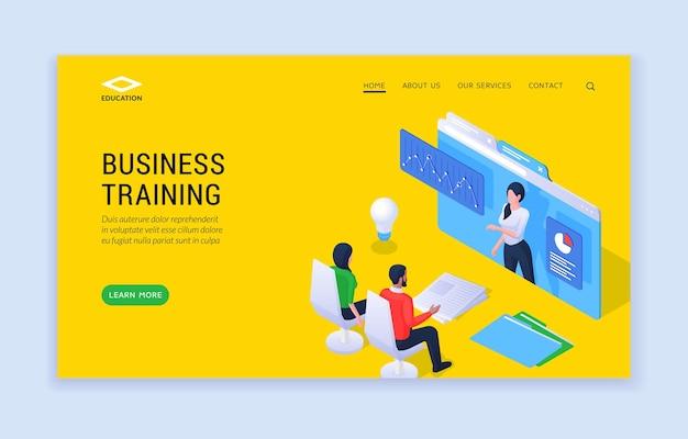 Sitio web de formación empresarial