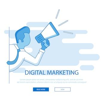 Sitio web de marketing