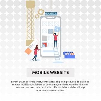 Sitio web móvil