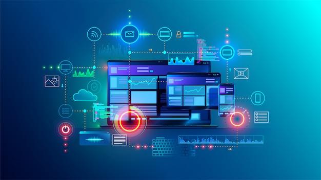 Sitio web multiplataforma