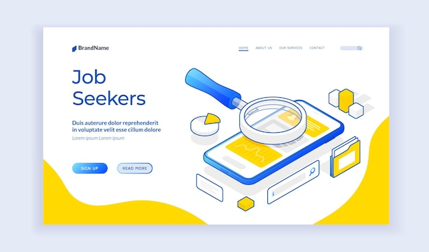 Sitio web para solicitantes de empleo