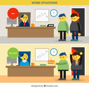 Situaciones de trabajo