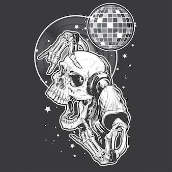 Skull rock party