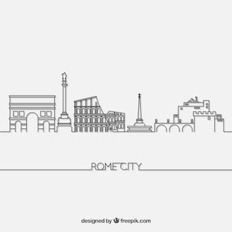 Skyline de roma