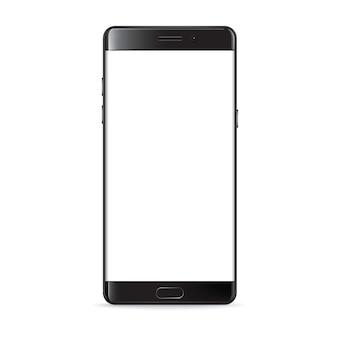 Smartphone aislado en blanco