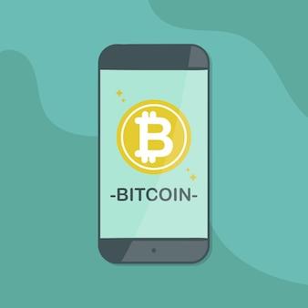 Smartphone bitcoin cripto