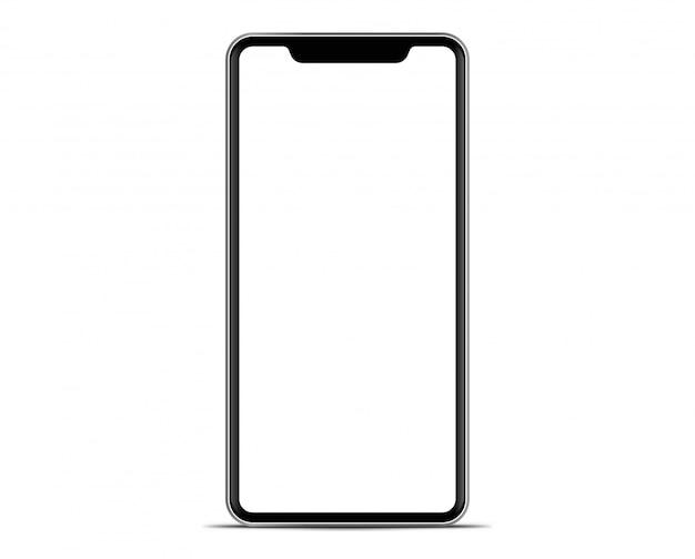 Smartphone la forma de un teléfono móvil moderno