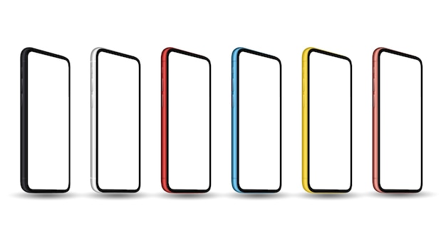 Smartphone con pantalla transparente estilo iphon